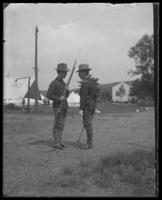 Two men of the 22nd Battalion, State Camp (Camp Smith), Peekskill, N.Y., June 13, 1903.