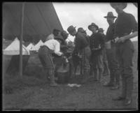 Mess, 22nd Battalion, State Camp (Camp Smith), Peekskill, N.Y., June 13, 1903.