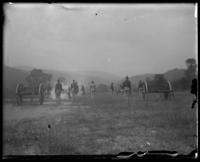 The Second Battery, State Camp (Camp Smith), Peekskill, N.Y., September 5-7, 1903.