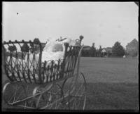 Baby in a carriage, Fort Slocum, N.Y. [?], undated [c. 1898-1899?].