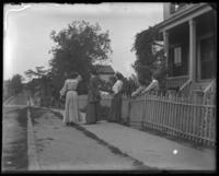 'The boys are coming home today': coming down the street, Bronx, N.Y., undated [c. 1905-1910?]