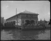 The 3rd Street Pier, from which the General Slocum departed, New York City, June 1904.