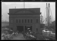 Pier 9, Munson Line, East River, New York City, undated (ca. September 1916).
