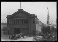 Pier 8, Spanish Line, East River, New York City, undated (ca. September 1916).