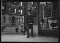 Porter of the UEL&PC store on 146th Street, New York City, December 14, 1916.