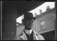 Eddie Nagle at an unidentified market, New York City, March 29, 1917.