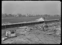Unidentified walkway and pavilion under construction, Manhattan Beach, Brooklyn (?), undated (ca. April 1917).