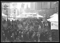 Circus in Bryant Park, New York City, undated [ca. November 1918].