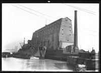 Erie Railroad grain elevator, Jersey City, N.J., February 10. 1919. Photographed for Arused [?] C. Hansen.