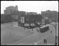 High-angle shot of the Woolworth Estate, intersection of W. 160th and W. 161st Street, Amsterdam Avenue, and St. Nicholas Avenue, New York City, undated [ca. April-May 1919]. Photographed for Joseph P. Day.