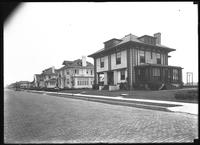 Unidentified beach houses, Long Beach, N.Y., August 10, 1919.