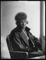 Portrait of unidentified young woman, New York City, undated (ca. 1911-1921).