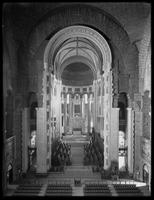 Interior of unidentified church or cathedral, undated (ca. 1913-1914).