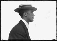 Jim Maloney, manager of English boxer William Thomas Wells (Bombardier Billy Wells), undated (ca. 1910).