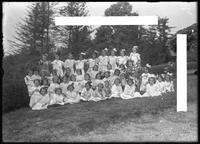 'Hoopla Group' portrait, Roman Catholic Orphan Asylum, Kingsbridge, Bronx, undated (ca. 1912)