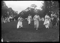 'Fat women's race', Isham Park 4th of July ceremonies, Inwood, New York City, July 5, 1915
