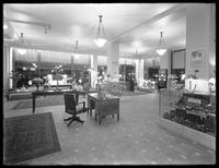 Interior of the United Electric Light & Power Company showroom at night, New York City, undated [ca. July 1915].