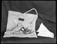 Product shot of an electric heating pad, undated [ca. September 1915].