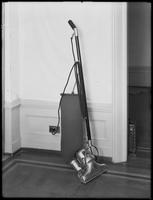 Product shot of an electric vacuum cleaner, undated [ca. September 1915].