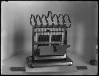 Product shot of an electric toaster, undated [ca. November 1915].