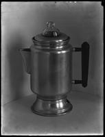 Product shot of a coffee percolator, undated [ca. November 1915].
