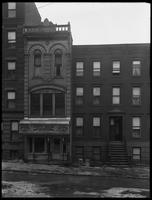 380 and 382 E. 136th Street, featuring the White House Bowling Alleys, Bronx, February 9, 1916. Photographed for Joseph P. Day.