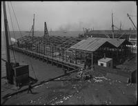 Pier 40, Atlantic Basin, Brooklyn, April 10, 1916. Photographed for the Robbins Ripley Company.