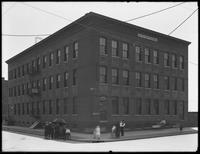 Meyer, Martin & Danda building at the corner of Dumont Avenue and Hendrix Street, Brooklyn, undated [ca. May 1916].