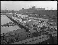 Unidentified pier under construction, Brooklyn [?], undated [ca. May 1916].