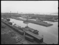 Pier 36, Atlantic Basin, Brooklyn, May 18, 1916. Photographed for the Robbins Ripley Company from the Montgomery roof.