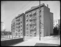 Albany Crescent apartments, between Bailey Avenue and W. 231st Street, Bronx, June 2, 1916.
