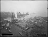 Pier 18, Joralemon Street, Brooklyn, June 9, 1916. Photographed for the Robbins-Ripley Company. View from the north end.
