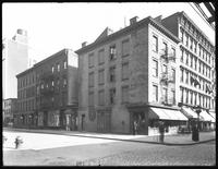 View of the southeast corner of W. 17th Street and Ninth Avenue, New York City, June 22, 1916. Photographed for Joseph P. Day