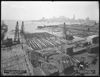 Pier 18, Atlantic Basin, Brooklyn, June 22, 1916. Photographed for the Robbins-Ripley Company.
