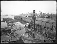 Pier 17, Joralemon Street, Brooklyn, August 30, 1916. View from Store 67. Photographed for the Robbins-Ripley Company.