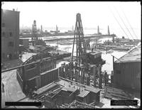 Pier 17, Joralemon Street, Brooklyn, August 30, 1916. View from Store 62. Photographed for the Robbins-Ripley Company.
