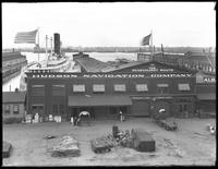 Hudson Navigation Company headquarters, Pier 32, New York City [?], August 13, 1916.