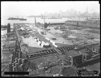 Pier 18, Joralemon Street, Brooklyn, August 17, 1916. Photographed for the Robbins-Ripley Company.