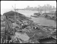 Pier 18, Joralemon Street, Brooklyn, September 22, 1916. Probably photographed for the Robbins-Ripley Company.