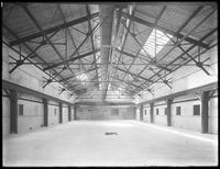 Interior of Pier 36 (?), Atlantic Basin, Brooklyn, September 30, 1916. Probably photographed for the Robbins-Ripley Company.