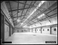 Interior of Pier 36 (?), Atlantic Basin, Brooklyn, September 30, 1916. Photographed for the Robbins-Ripley Company.