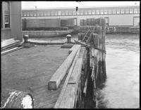Detail of unidentified pier, undated (ca. October 1916).