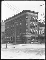 Apartment building at E. 156th Street and Hewett Place, Bronx, undated (ca. October 1916).