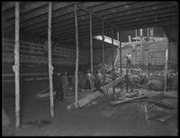 Interior of the Santa Clara (?), Erie Basin, Brooklyn, December 11, 1916. Photographed for Ernest E. Baldwin.