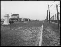 Empty lots awaiting development alongside railroad tracks, Broad Channel (?), Queens, undated (ca. January 1917).