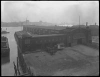 Pier 21 (Baltimore & Ohio Railroad), East River, New York City, January 10, 1917. Photographed for G. E. Tilt & Company.