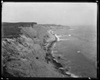 Unidentified coastline, undated (ca. 1911-1922).