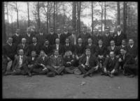 Group portrait of unidentified men in suits, undated (ca. 1911-1922).