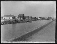 Copy photograph of houses in Broad Channel, Queens (?), undated ( ca. April 1917).