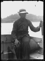 Frank Terrenner, captain of the Dyckman Street Yacht Club (?), July 5, 1914.